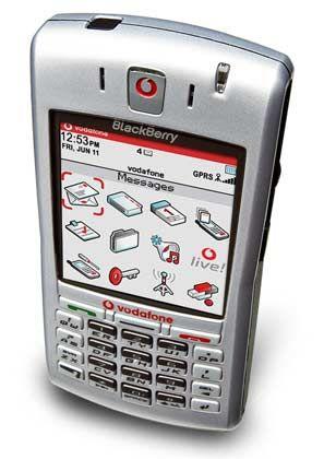 Vodafone: Der Blackberry 7100v gleicht eher einem Mobiltelefon als seinen Vorgängermodellen