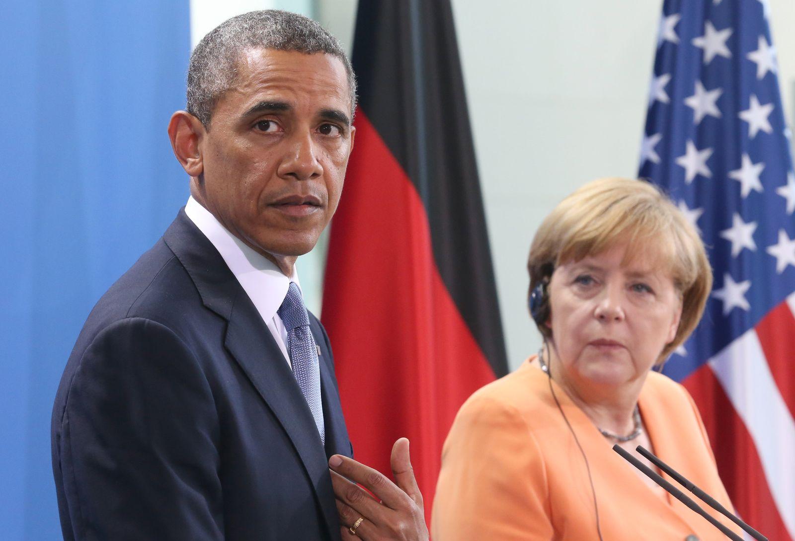Obama/ Merkel