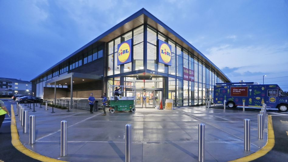 Lidl Shop in Virginia Beach, North Carolina: 80 Shops binnen Jahresfrist geplant - nach Aldi greift auch Lidl in USA an