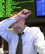 """Das Marktgeschehen im """"schwarzen Oktober"""" trieb nicht nur vielen Händler den Schweiß ins Gesicht."""
