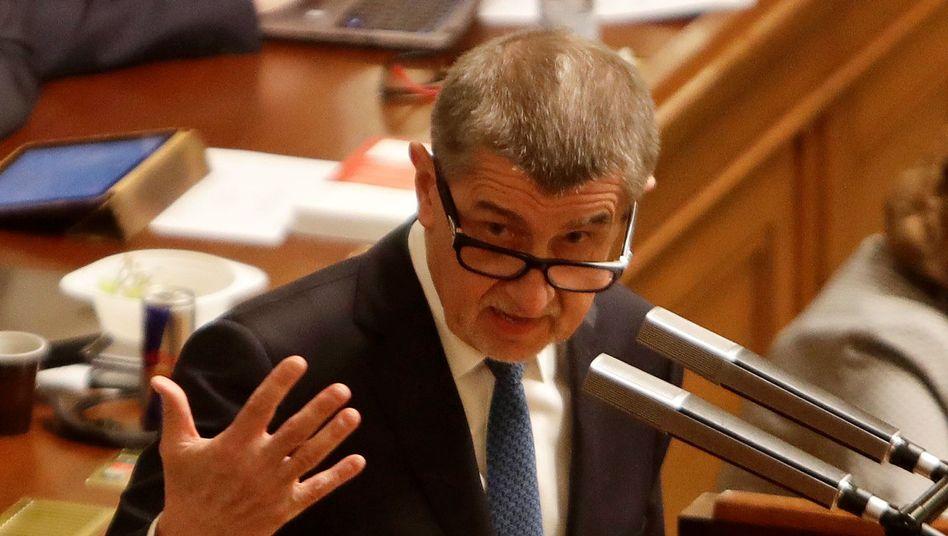 """""""Es ist kein Geheimnis, dass die Praktiken einiger Wechselstuben vor allem im Zentrum der Hauptstadt nicht gut für den Ruf der Tschechischen Republik sind"""", sagt Tschechiens Ministerpräsident Andrej Babis"""