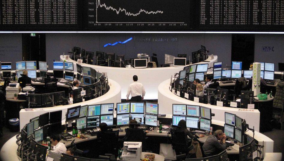Börse Frankfurt: Der Dax startet einen Erholungsversuch