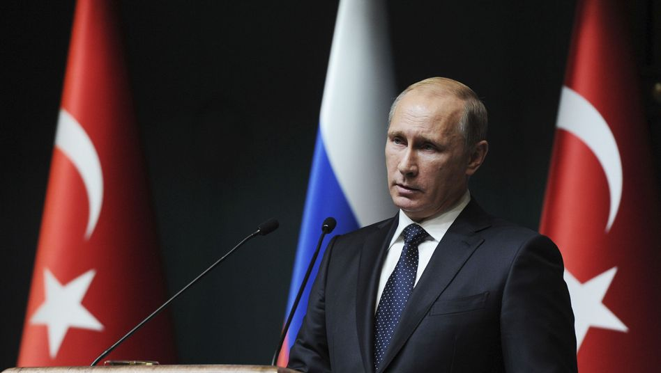 Ex-Partner: Russlands Präsident Wladimir Putin im Dezember 2014 in Ankara