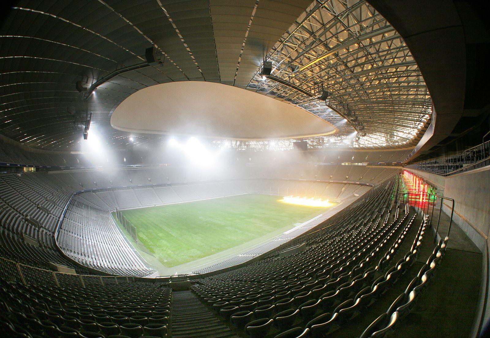 EINMALIGE VERWENDUNG Allianz Arena