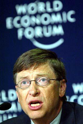 Vorzeige-Unternehmer: Microsoft-Chef Bill Gates wird in Davos über Zukunftstechnologien sprechen