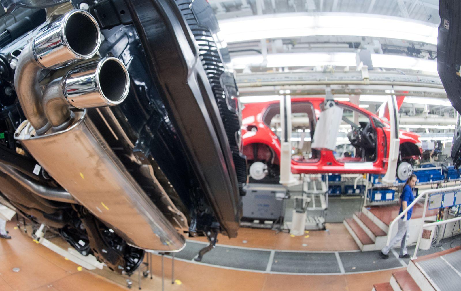 VW Diesel Auspuffrohr