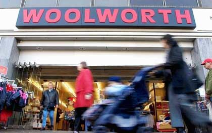 Schwieriger Fall: Woolworth-Filiale in Hamburg