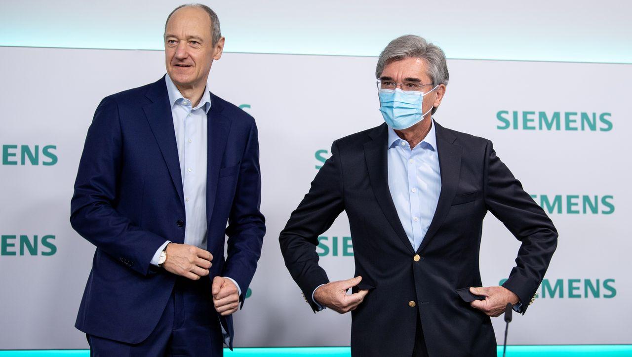 Zum Abschluss nur 9,5 Millionen Euro: Siemens-Chef Joe Kaeser verdient in seinem letzten Jahr weniger - manager magazin - Unternehmen