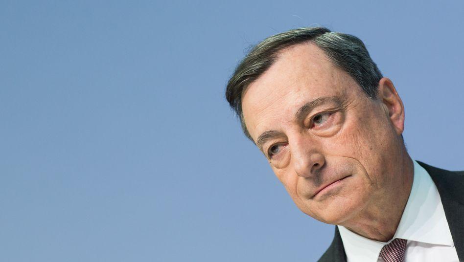 """EZB-Chef Mario Draghi: """"Es sollte eine starke Vereinbarung (zwischen Athen und den Geldgebern) sein - eine die Wachstum erzeugt"""""""