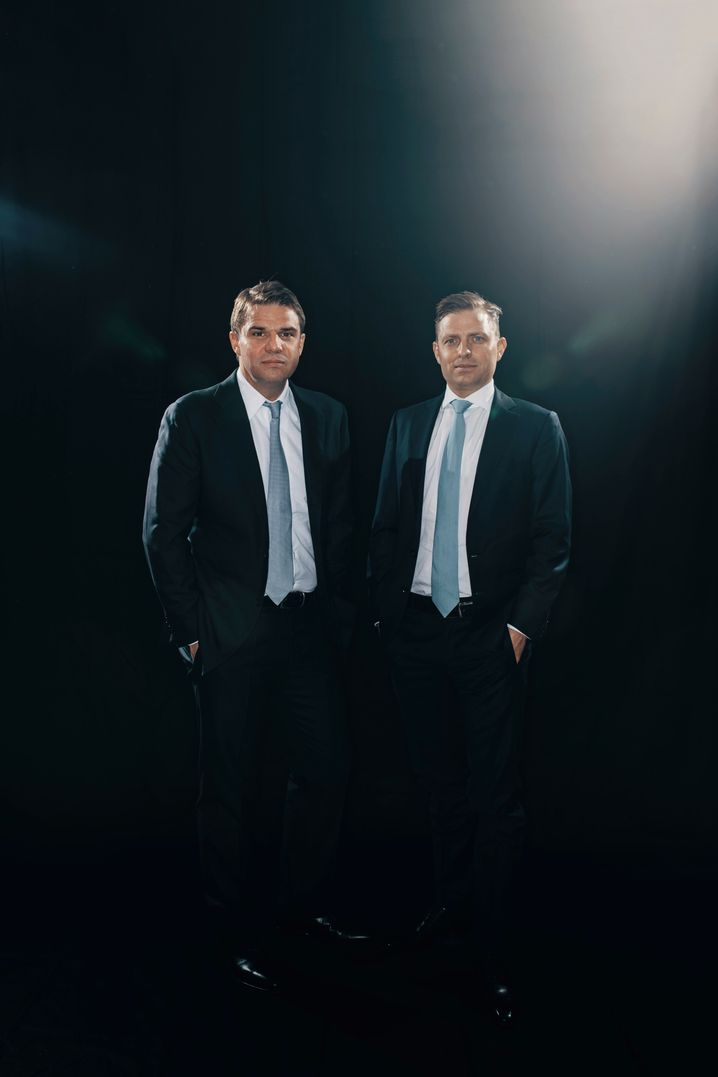 Umworbene Geschäftspartner: Die Sixt-Brüder Alexander (l.) und Konstantin.