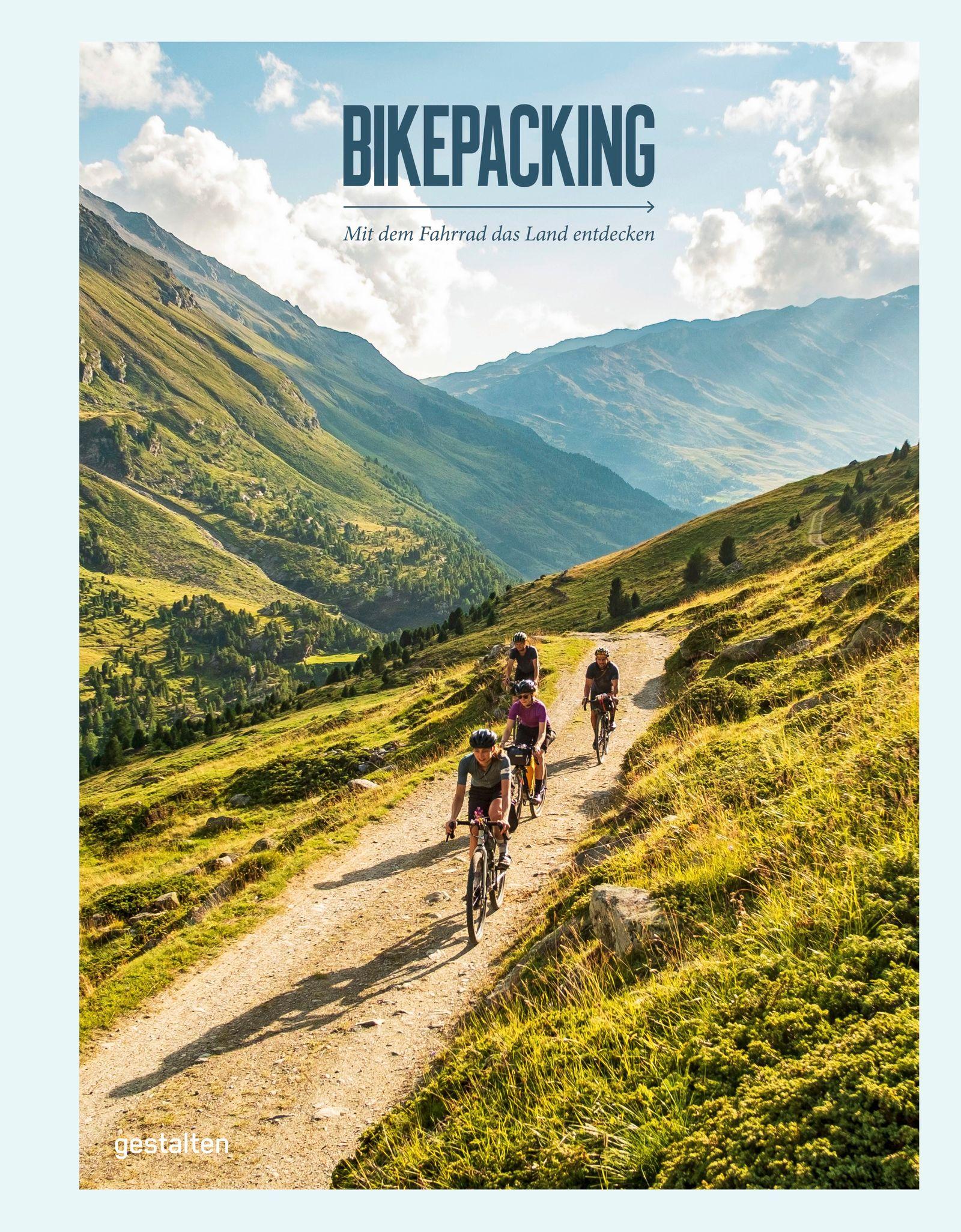 BUCHCOVER Bikepacking, gestalten 2021