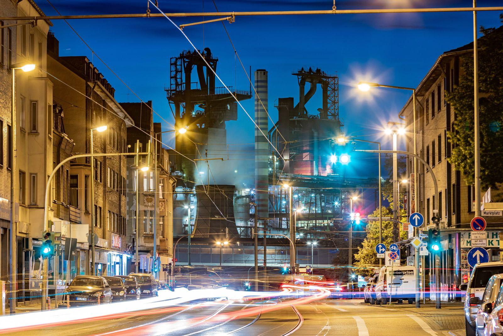 Thyssenkrupp / Stahlwerk