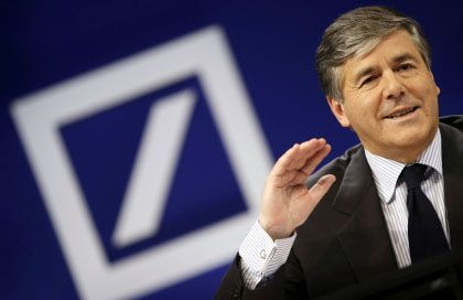 Abwärts mit dem Investmentbanking: Deutsche-Bank-Chef Ackermann erwartet einen Rückgang um 19 Prozent