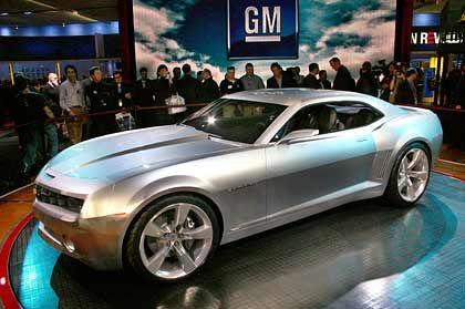 Sportliche Eleganz: Die Chevrolet-Studie Camaro