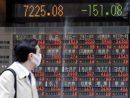 Einstürzende Kurse: Die japanische Regierung will dagegen etwas unternehmen