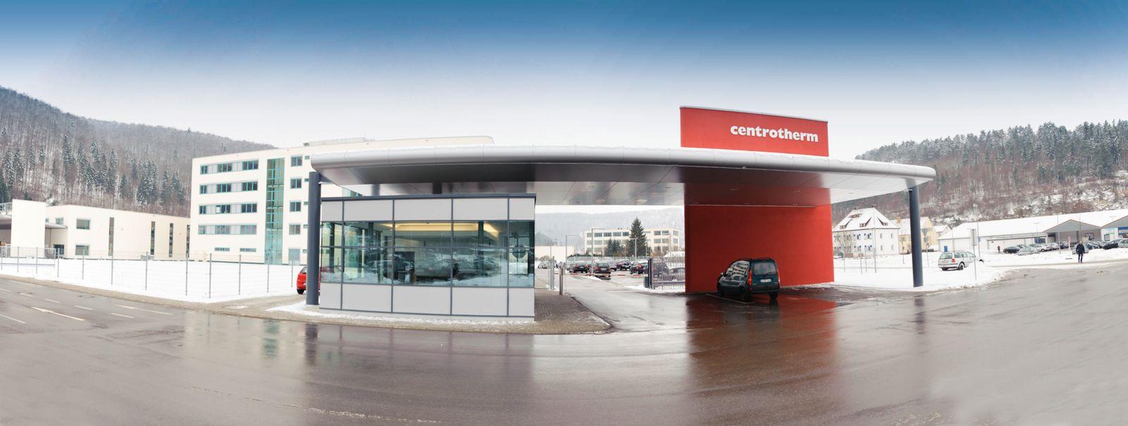 Centrotherm / Solar / HQ Außenansicht / LOGO