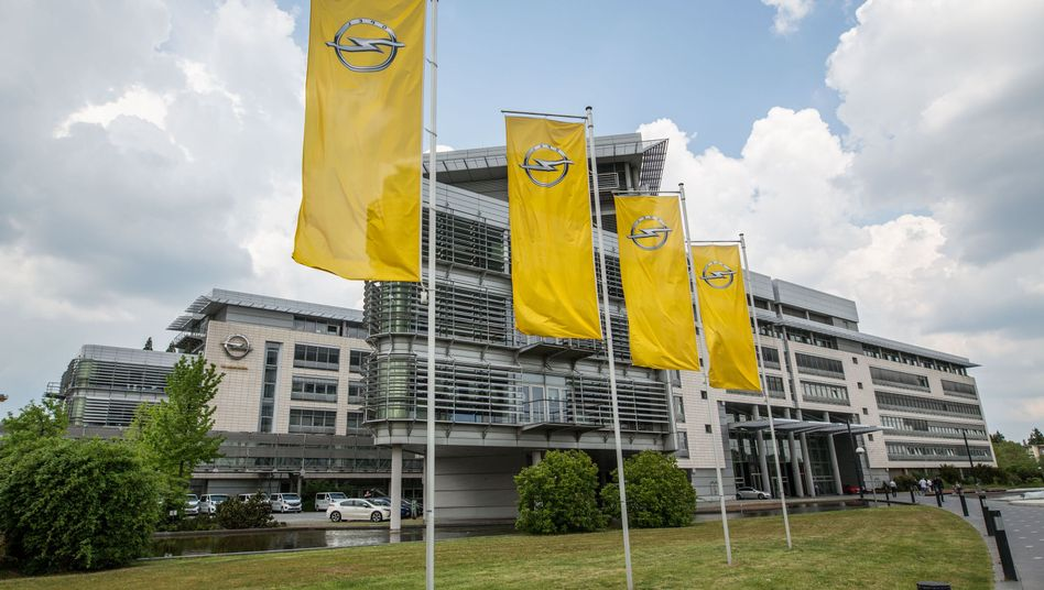 Opel-Stammsitz in Rüsselsheim