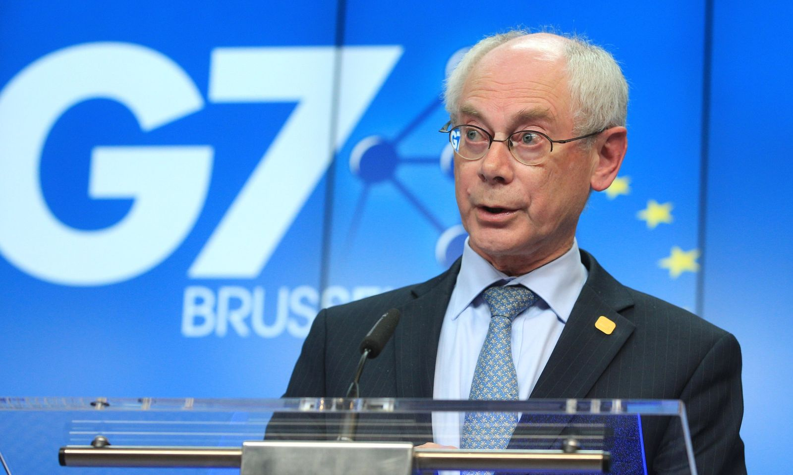 Belgium G7 Rompuy