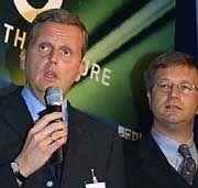 Einblicke: Kai-Uwe Ricke (T-Mobile, l.) und Michael Ollmann (McKinsey) schilderten die Anforderungen an Manager von heute