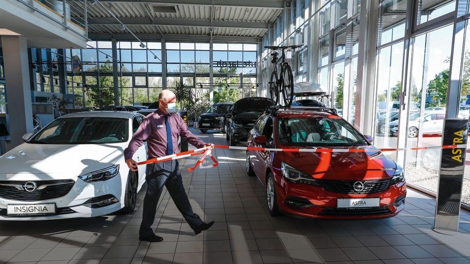 Verkaufskiller: Die Pandemie hat Opel besonders stark getroffen. Die Händler hoffen auf den Erfolg neuer Modelle – wie den Astra, der 2021 startet.