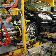 Produktion bei Mercedes: Auch die deutschen Hersteller müssen Einbrüche verkraften