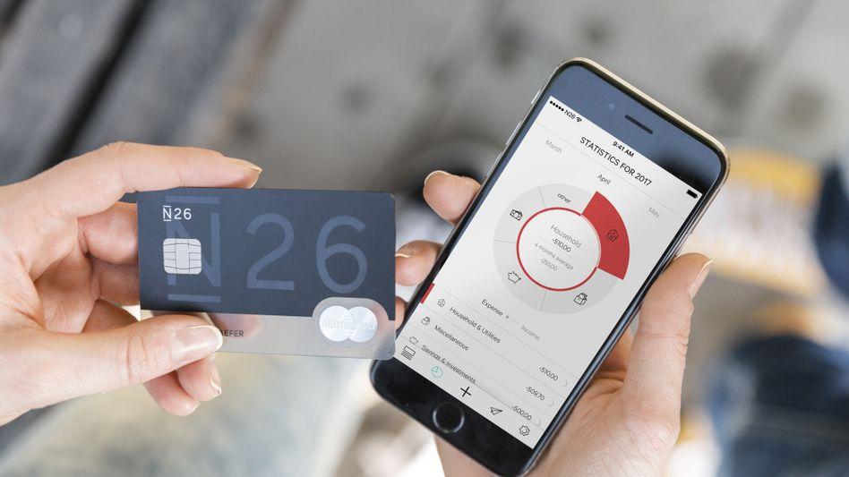N26: Bankgeschäfte via Smartphone