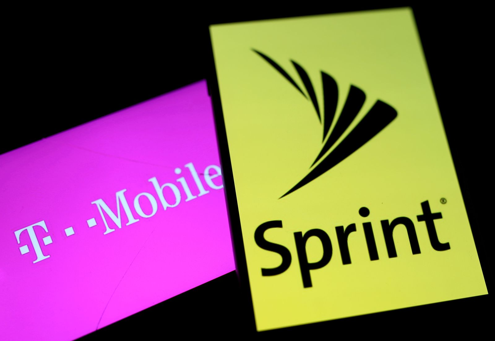 SPRINT CORP-M&A/T-MOBILE US