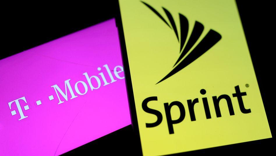 Sie wollen fusionieren, doch der angestrebte Zusammenschluss von T-Mobile US und Sprint ist noch längst nicht in trockenen Tüchern