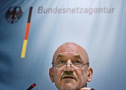 """""""Anderes Verhalten der Bieter"""": Netzagentur-Chef Matthias Kurth kann diesmal nicht mit 50 Milliarden Euro Erlös rechnen"""