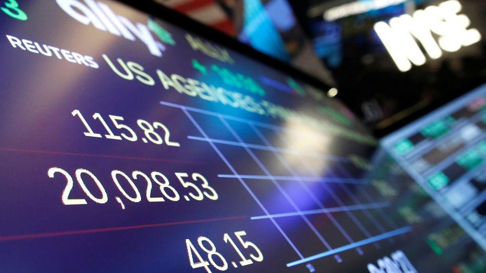 Wall Street: Der Dow Jones hat die Marke von 20.000 Zählern geknackt