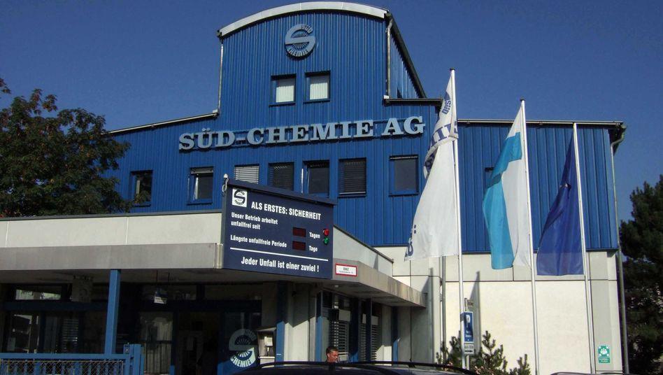 Das Süd-Chemie Werk in Moosburg: Bald Standort der Schweizer Clariant
