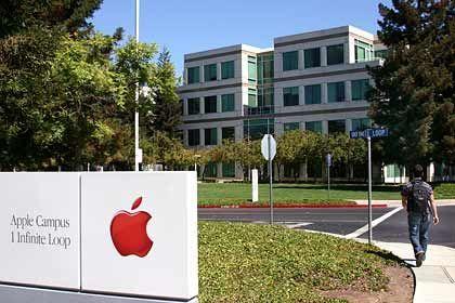 Optionsskandal aufgeklärt: Apple-Firmensitz in Cupertino