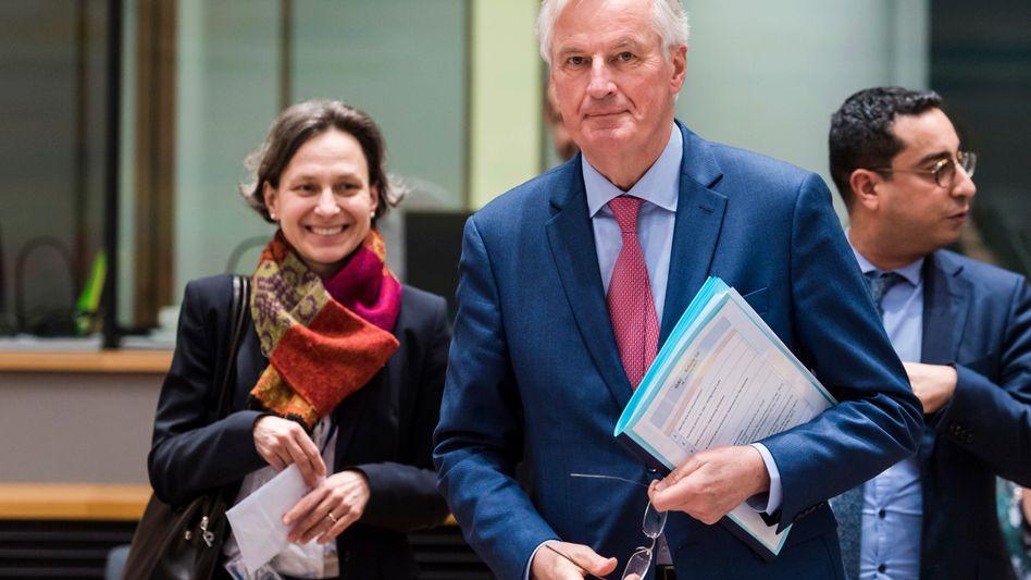 """Michel Barnier: """"Die Zeit ist gekommen, eine Entscheidung zu treffen"""""""
