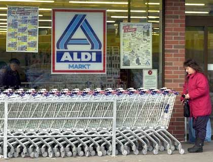 Die Konkurrenz schläft nicht: Aldi-Filiale