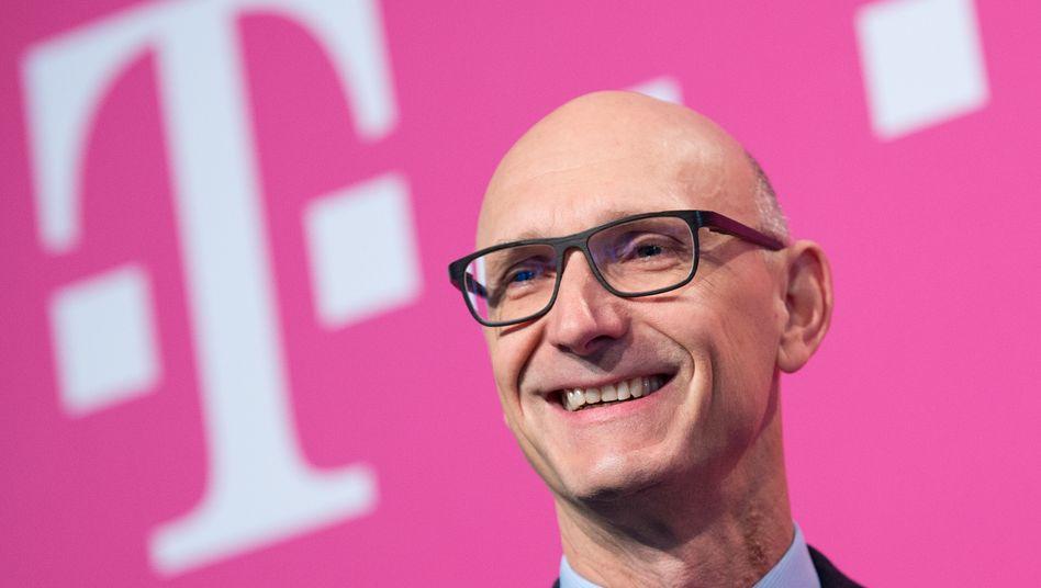 """Telekom-Chef Timotheus Höttges: """"Ich habe es dreimal versucht, ich bin seit sieben Jahren an dieser Transaktion dran"""""""