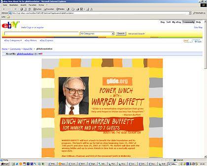 Wer will mit Buffett speisen? Das aktuelle Gebot liegt bei 300.100 Dollar