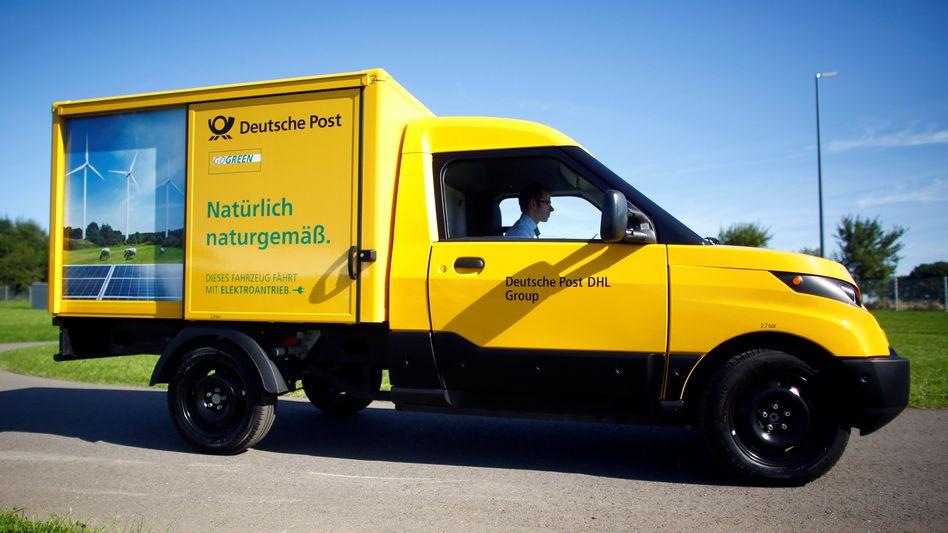 Streetscooter der Deutschen Post: Bald auf britischen Straßen