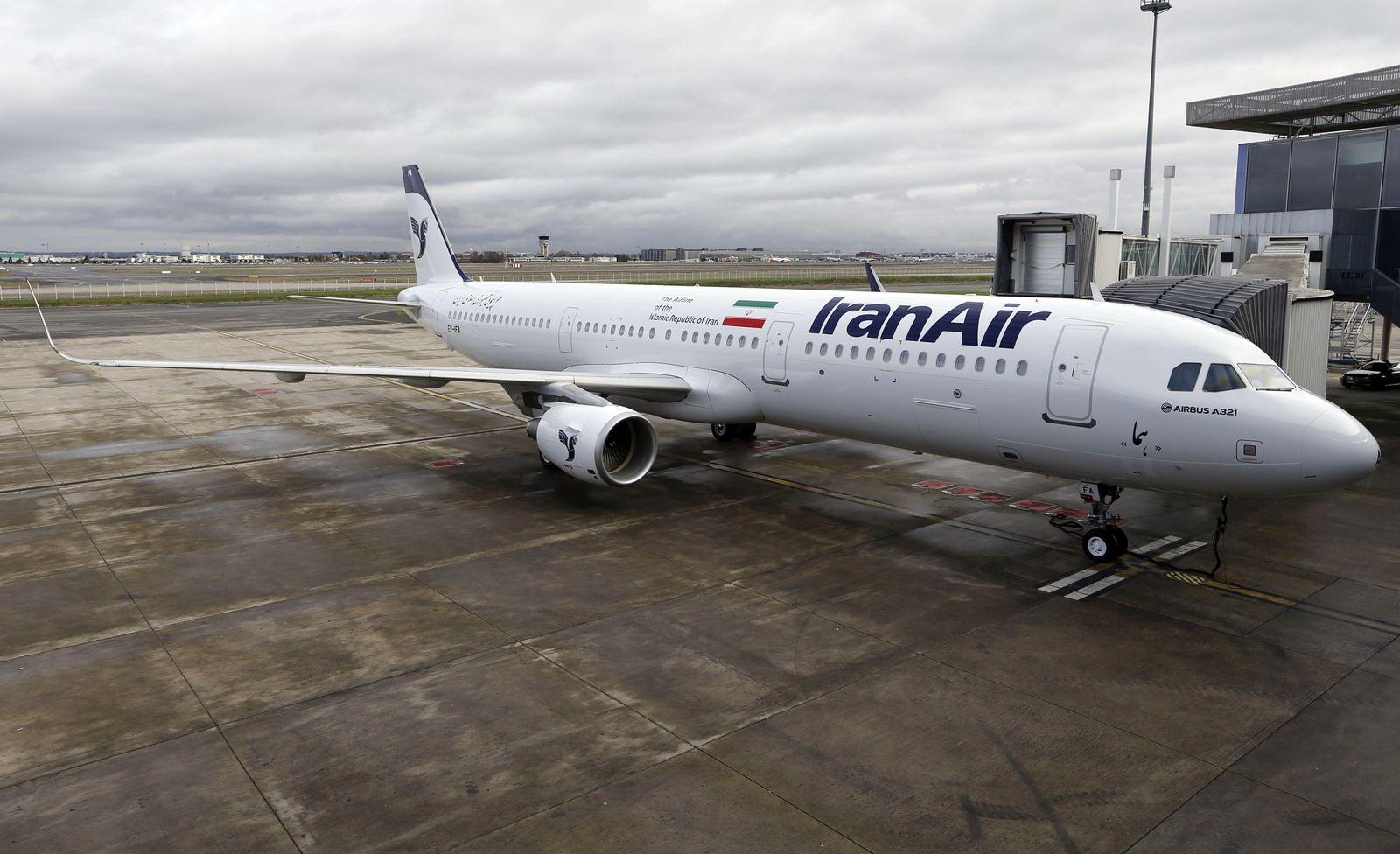 IRAN-AIRCRAFT/ Airbus A321