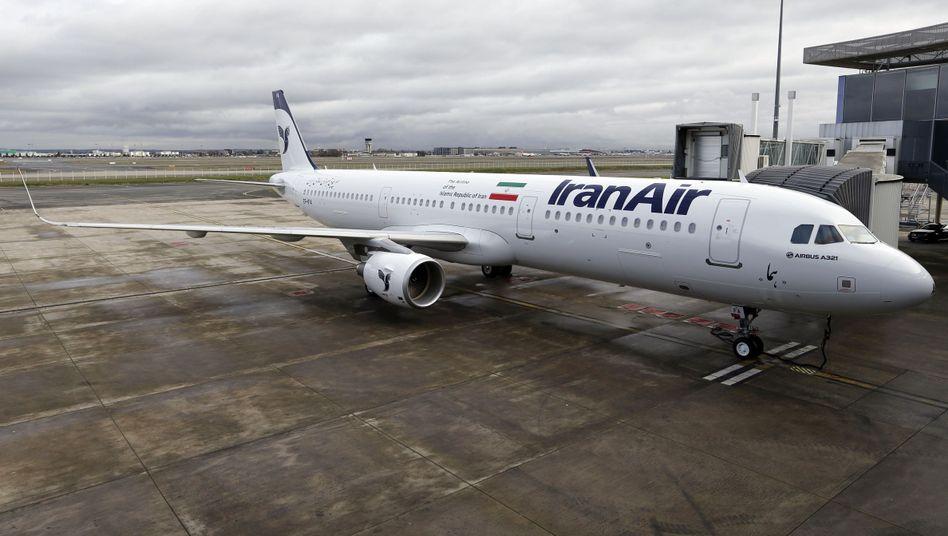 Airbus A321 von Iran Air