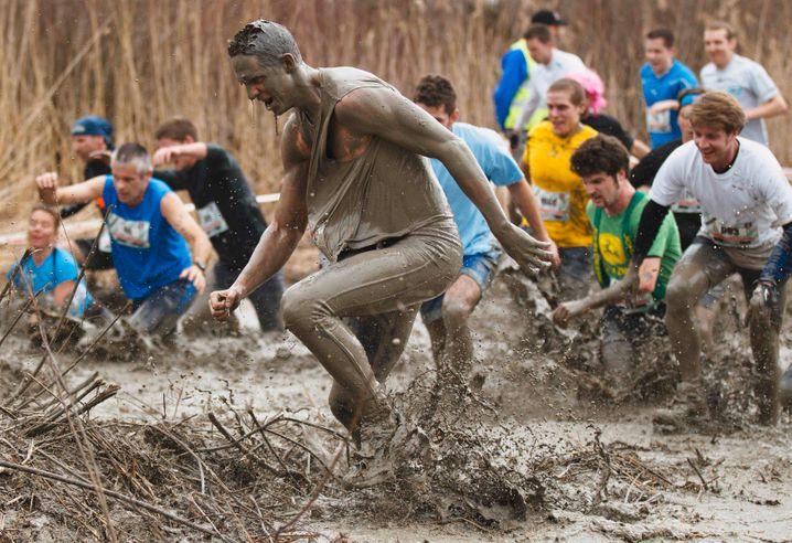 Strongman run: Allzu niedrig darf die Ekelschwelle bei diesen Spaßläufen nicht liegen