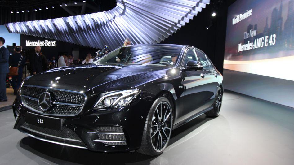 Mercedes-AMG E43. Ob die neue aufgemotzte 600 PS starke Version ins Leasing-Angebot kommt?