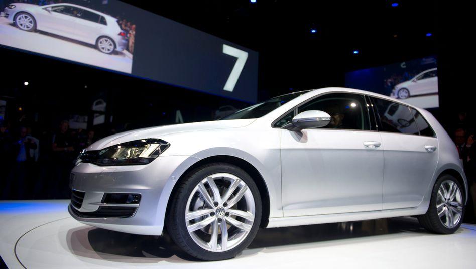 Golf 7: In Deutschland kletterten die Verkäufe der Kernmarke VW im ersten Halbjahr nur maginal, weltweit betrug das Plus knapp 4 Prozent