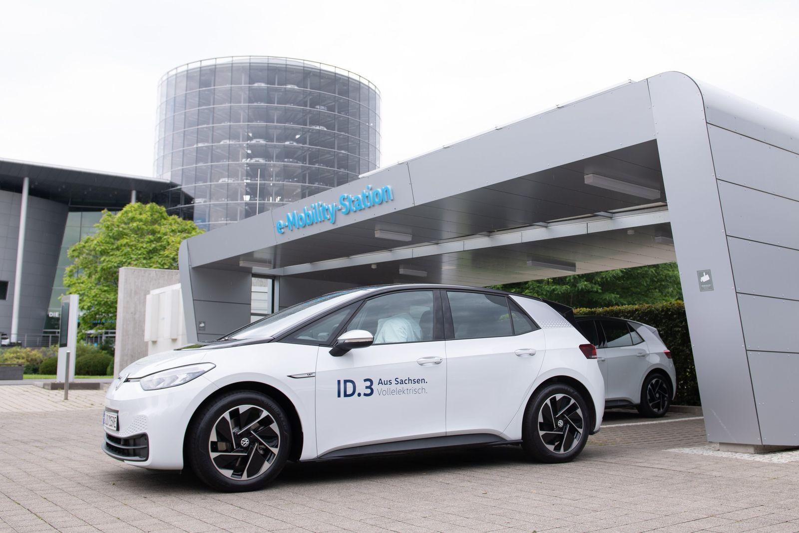VW startet Auslieferung des ID.3