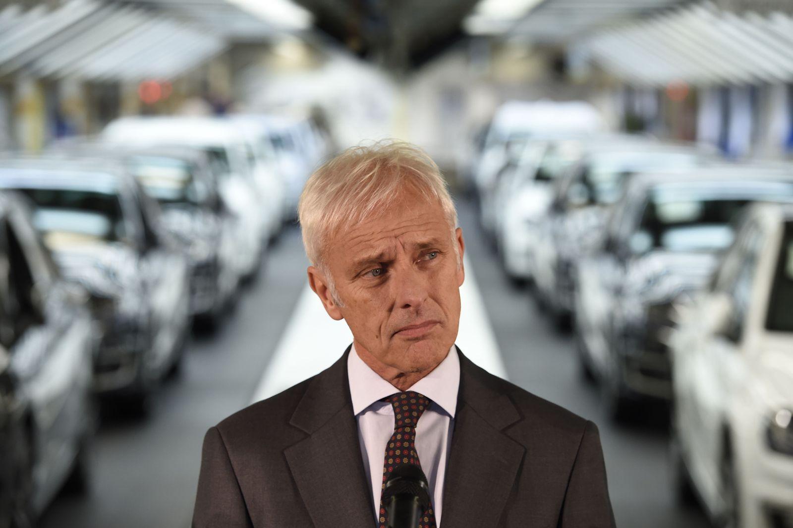Matthias Müller VW Volkswagen