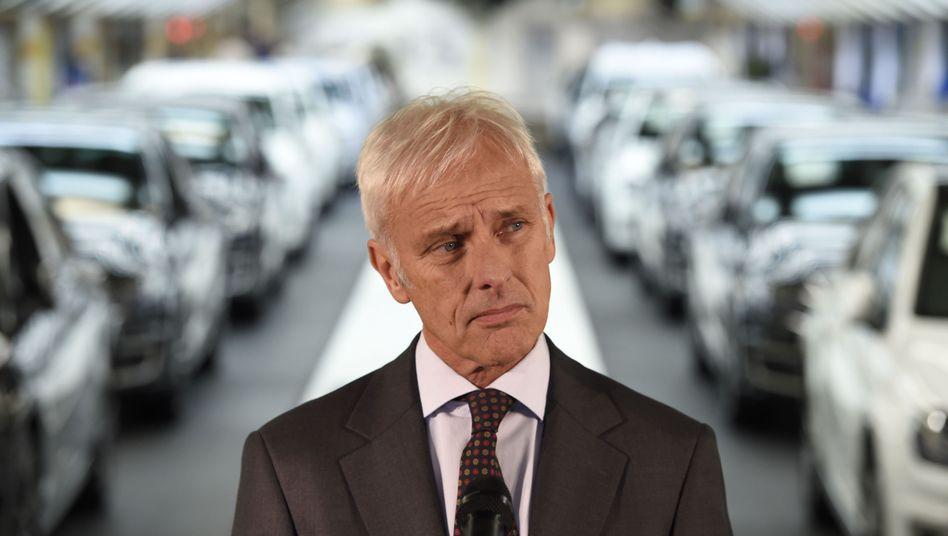 VW-Chef und Personalvorstand in einem: Matthias Müller