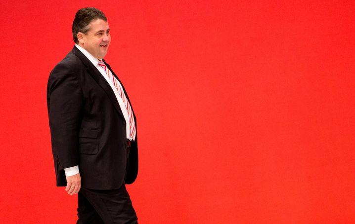 Sigmar Gabriel: Der Parteichef hat SPD in die Große Koalition gesteuert und sechs Ministerposten durchgesetzt