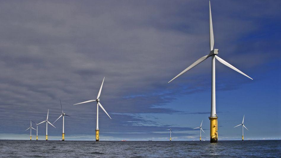 Windpark von RWE vor Wales: Der Versorger verdiente 2020 auch dank starker Windkraftgeschäfte mehr als erwartet