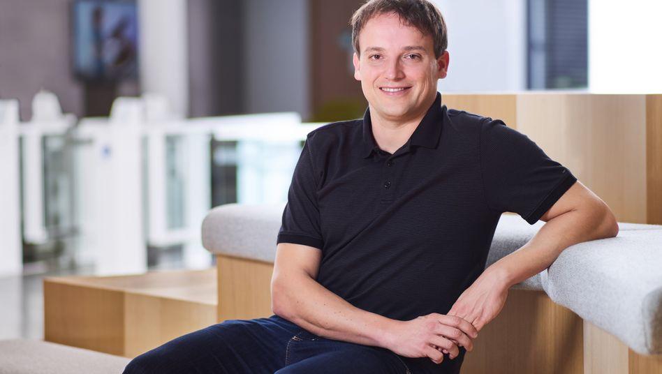 Nicht die Zeit für steigende Gehälter: SAP-Chef Christian Klein verzichtet.