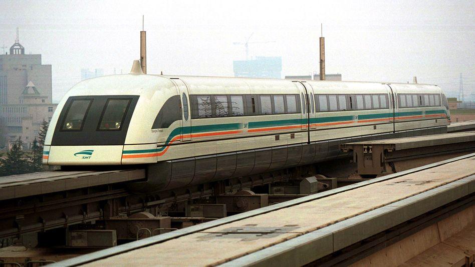 Transrapid in Shanghai: Vossloh liefert Teile für Hochgeschwindigkeitsstrecken nach China
