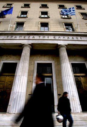 Griechische Zentralbank: Internationale Anleihenplatzierung versucht